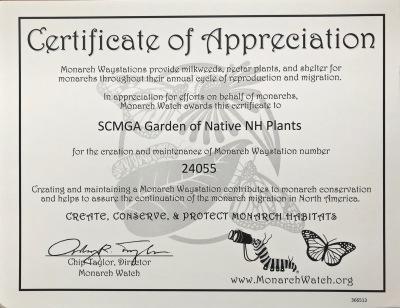 Monarch Certificate